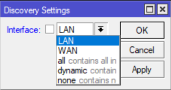 MNDP dan interface list
